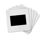 στοίβα φωτογραφικών διαφανειών Διανυσματική απεικόνιση