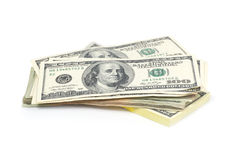 στοίβα χρημάτων Στοκ εικόνες με δικαίωμα ελεύθερης χρήσης