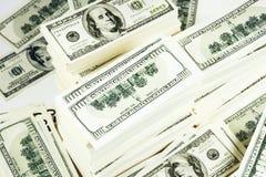 στοίβα χρημάτων Στοκ Εικόνες