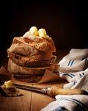 στοίβα ψωμιού Στοκ Εικόνες