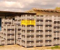 στοίβα 2 κλουβιών Στοκ εικόνα με δικαίωμα ελεύθερης χρήσης