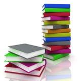 στοίβες βιβλίων διανυσματική απεικόνιση