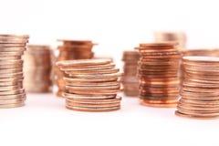 στοίβες νομισμάτων στοκ φωτογραφίες με δικαίωμα ελεύθερης χρήσης