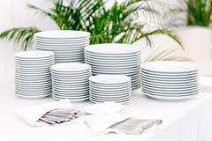 στοίβες πιάτων στοκ φωτογραφία με δικαίωμα ελεύθερης χρήσης