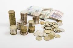 Στοίβες των νομισμάτων Στοκ εικόνες με δικαίωμα ελεύθερης χρήσης