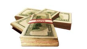 στοίβες χρημάτων Στοκ Φωτογραφία