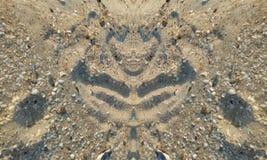 Στοιχεία άμμου Στοκ Φωτογραφία