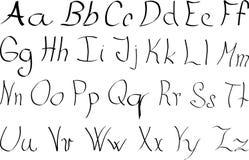 στοιχεία αλφάβητου που το διάνυσμα Στοκ φωτογραφία με δικαίωμα ελεύθερης χρήσης