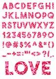 στοιχεία αλφάβητου που το διάνυσμα Στοκ Φωτογραφία