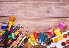 Στοιχεία για τη δημιουργικότητα των παιδιών στοκ εικόνα με δικαίωμα ελεύθερης χρήσης
