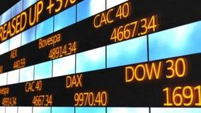 Στοιχεία εμπορικών συναλλαγών που τρέχουν στο ηλεκτρονικό τηλέτυπο, αποσπάσματα χρηματιστηρίου, τιμές ανταλλαγής απεικόνιση αποθεμάτων
