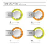 Στοιχεία επιχειρησιακού infographics. Πρότυπο σχεδίου Στοκ φωτογραφία με δικαίωμα ελεύθερης χρήσης