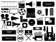 Στοιχεία κινηματογράφων Στοκ Φωτογραφίες