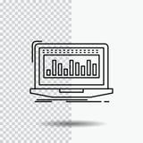 Στοιχεία, οικονομικά, δείκτης, έλεγχος, εικονίδιο γραμμών αποθεμάτων στο διαφανές υπόβαθρο Μαύρη διανυσματική απεικόνιση εικονιδί απεικόνιση αποθεμάτων