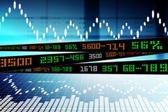 Στοιχεία που αναλύουν στο χρηματιστήριο διανυσματική απεικόνιση