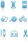 στοιχεία που ράβουν το ρά& απεικόνιση αποθεμάτων
