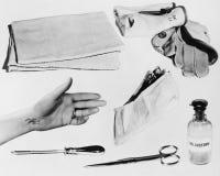 Στοιχεία στο έγκλημα του μυστηρίου αιώνα Στοκ εικόνα με δικαίωμα ελεύθερης χρήσης