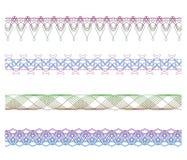 στοιχεία συνόρων που τίθ&epsil διανυσματική απεικόνιση