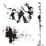 στοιχεία σχεδίου grunge Στοκ φωτογραφίες με δικαίωμα ελεύθερης χρήσης