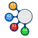 Στοιχεία σχεδίου εμβλημάτων Infographic διανυσματική απεικόνιση