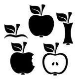 Στοιχεία σχεδίου της Apple Στοκ Φωτογραφίες