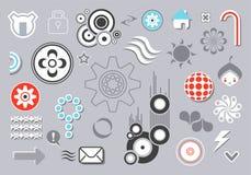 στοιχεία σχεδίου Στοκ εικόνα με δικαίωμα ελεύθερης χρήσης
