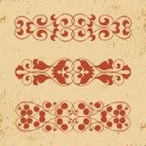 στοιχεία τέσσερα σχεδίου ανασκόπησης snowflakes λευκό διανυσματική απεικόνιση