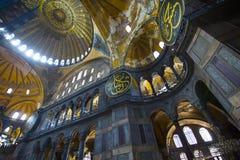 Στοιχεία της αρχιτεκτονικής Hagia Soph Στοκ εικόνα με δικαίωμα ελεύθερης χρήσης