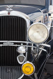 Στοιχεία του εκλεκτής ποιότητας αμερικανικού αυτοκινήτου Στοκ Εικόνες
