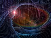 Στοιχεία του μυαλού Στοκ εικόνα με δικαίωμα ελεύθερης χρήσης