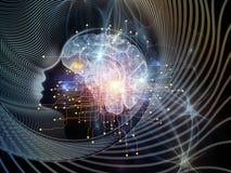 Στοιχεία του μυαλού Στοκ Εικόνα