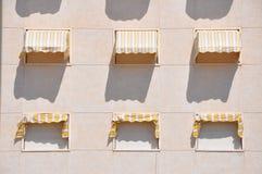 Στοιχεία του υποβάθρου Πόρτες, παράθυρα, τοίχοι Στοκ Φωτογραφίες