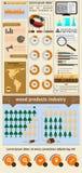 Στοιχεία του infographics Στοκ φωτογραφία με δικαίωμα ελεύθερης χρήσης