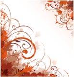 στοιχεία φθινοπώρου floral Στοκ εικόνα με δικαίωμα ελεύθερης χρήσης