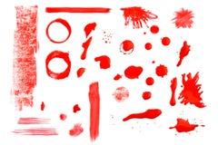 Στοιχεία χρωμάτων Στοκ εικόνες με δικαίωμα ελεύθερης χρήσης