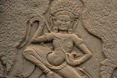Στοιχεία Angkor Wat στην Καμπότζη Στοκ φωτογραφία με δικαίωμα ελεύθερης χρήσης