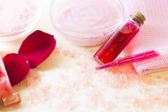 Στοιχεία Aromatherapy καθορισμένα Στοκ Εικόνες