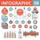 Στοιχεία 08 Infographic Στοκ φωτογραφία με δικαίωμα ελεύθερης χρήσης