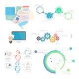 Στοιχεία Infographics διανυσματική απεικόνιση