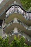 Στοιχείο ενός σύγχρονου multi-storey κτηρίου Στοκ Φωτογραφίες