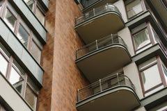 Στοιχείο ενός σύγχρονου multi-storey κτηρίου Στοκ εικόνες με δικαίωμα ελεύθερης χρήσης