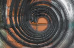 Στοιχείο διακοσμήσεων φρακτών μετάλλων Στοκ φωτογραφία με δικαίωμα ελεύθερης χρήσης