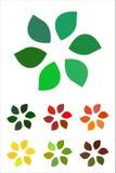 Στοιχείο λογότυπων φύλλων σχεδίου. Στοκ Φωτογραφία