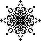 στοιχείο σχεδίου floral Στοκ φωτογραφία με δικαίωμα ελεύθερης χρήσης