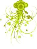 στοιχείο σχεδίου floral Στοκ Εικόνα