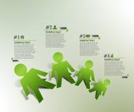 Στοιχείο σχεδίου εμβλημάτων πληροφοριών διανυσματική απεικόνιση