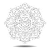Στοιχείο σχεδίου Mandala Στοκ φωτογραφία με δικαίωμα ελεύθερης χρήσης