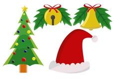 Στοιχείο Χριστουγέννων Στοκ Εικόνα