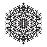 Στοιχείο mandala σχεδίων χεριών zentangle Στοκ Φωτογραφία