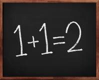 στοιχειώδες math Στοκ φωτογραφίες με δικαίωμα ελεύθερης χρήσης